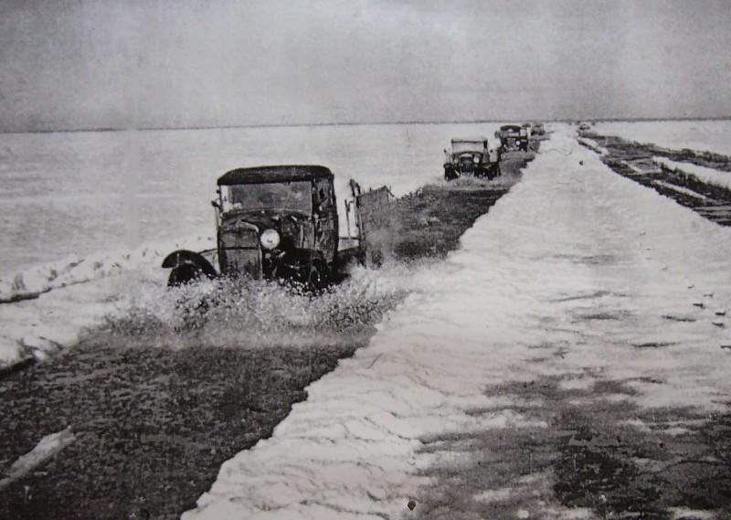 «Полуторки» на пути в Ленинград