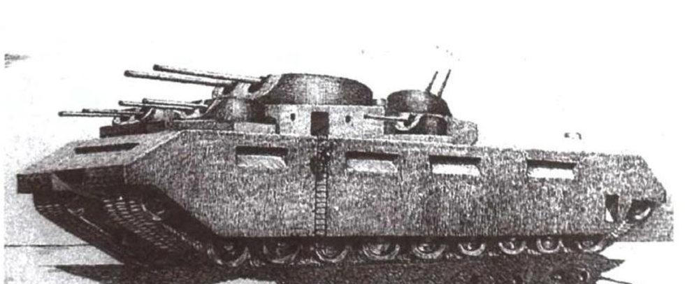 Проект танка ТГ-5