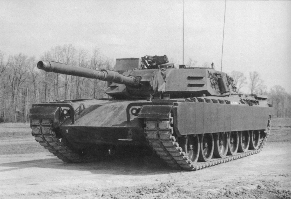 Прототип танка XM1
