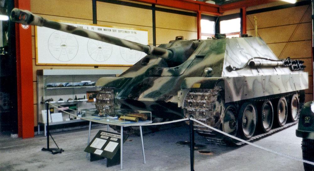 Самоходка Jagdpanter
