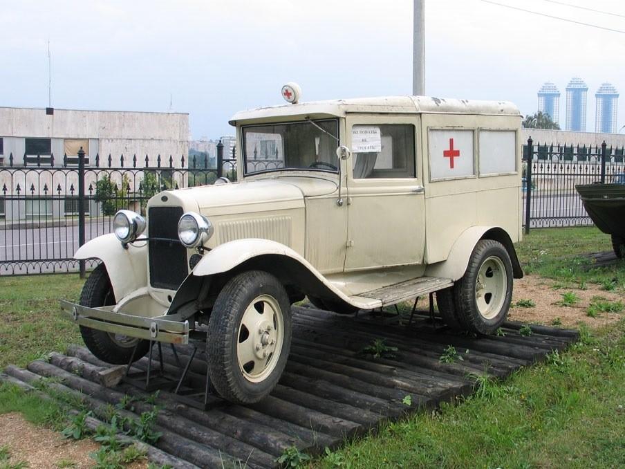 Санитарный ГАЗ-55