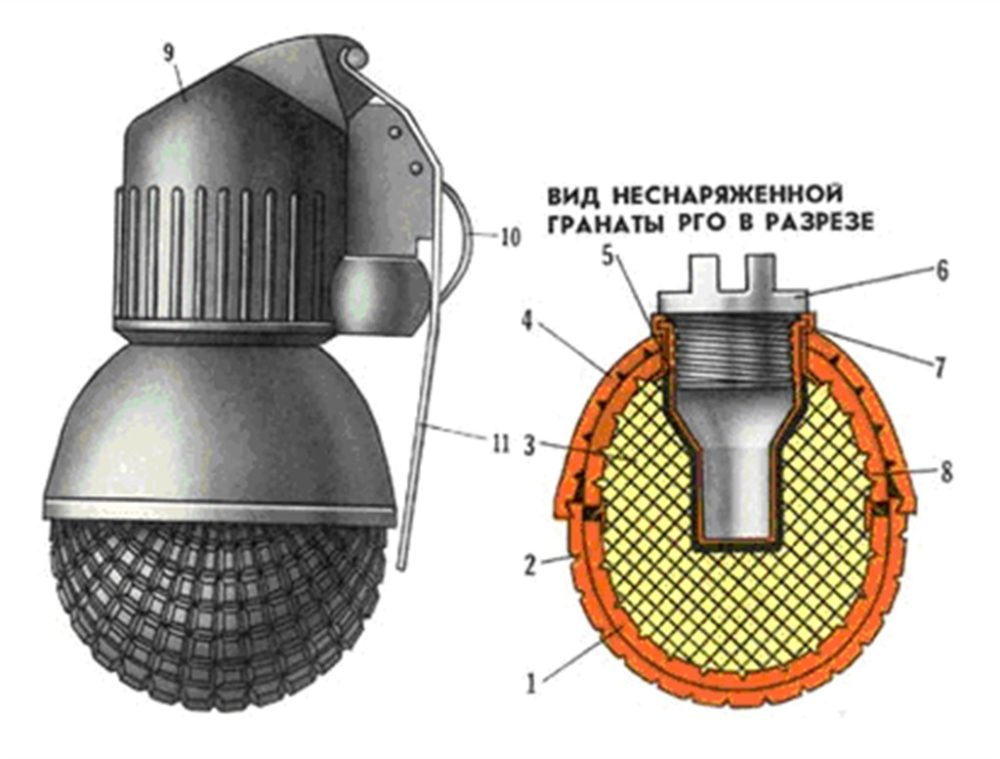 Схема устройства РГО