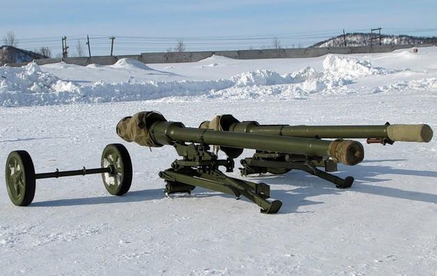 Собранный СПГ-9Д