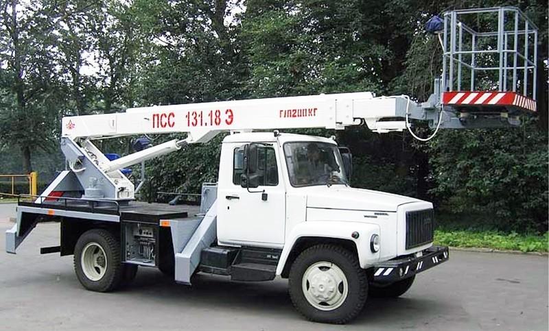 Спецтехника на базе ГАЗ-3309