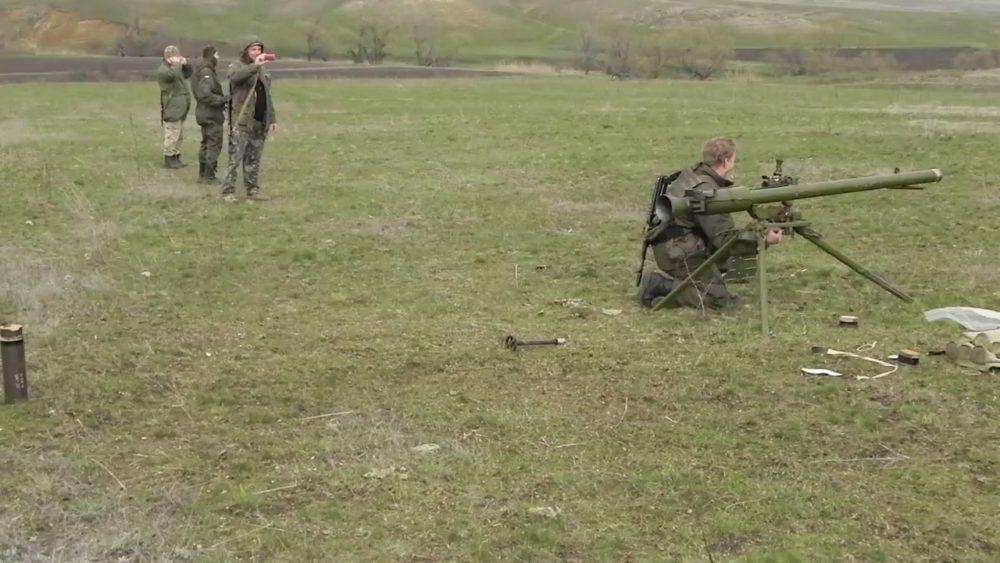 СПГ-9 в боевых условиях
