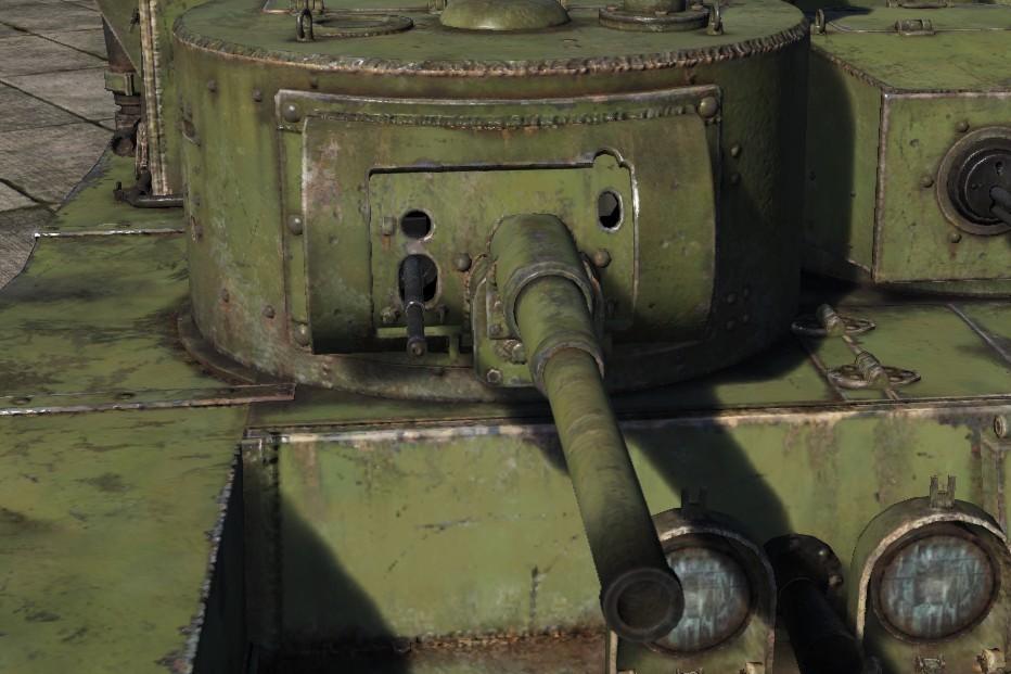 «Средняя» башня Т-35
