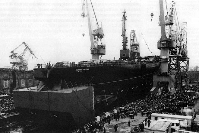 Строительство «Адмирала Кузнецова»