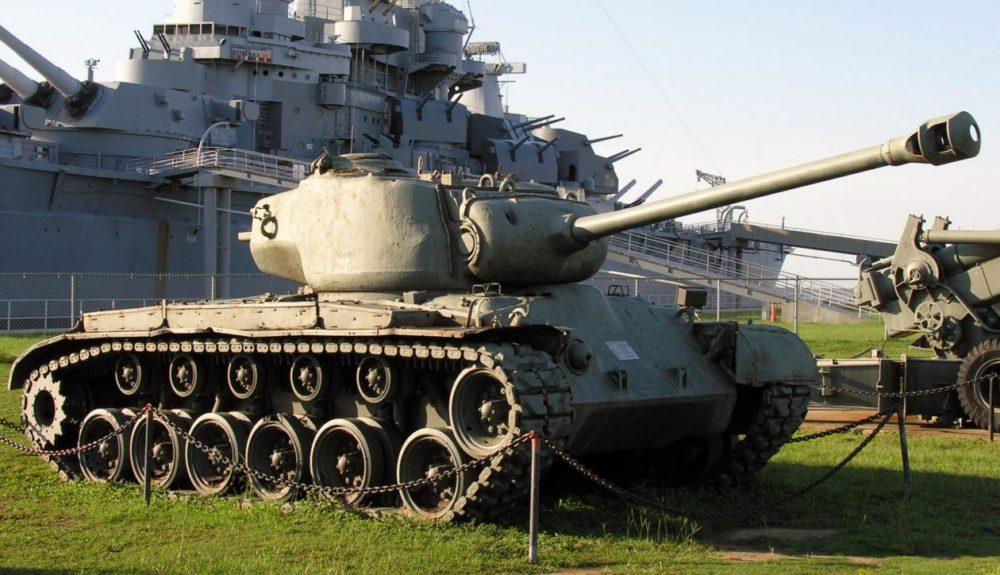 Танк M26 Pershing