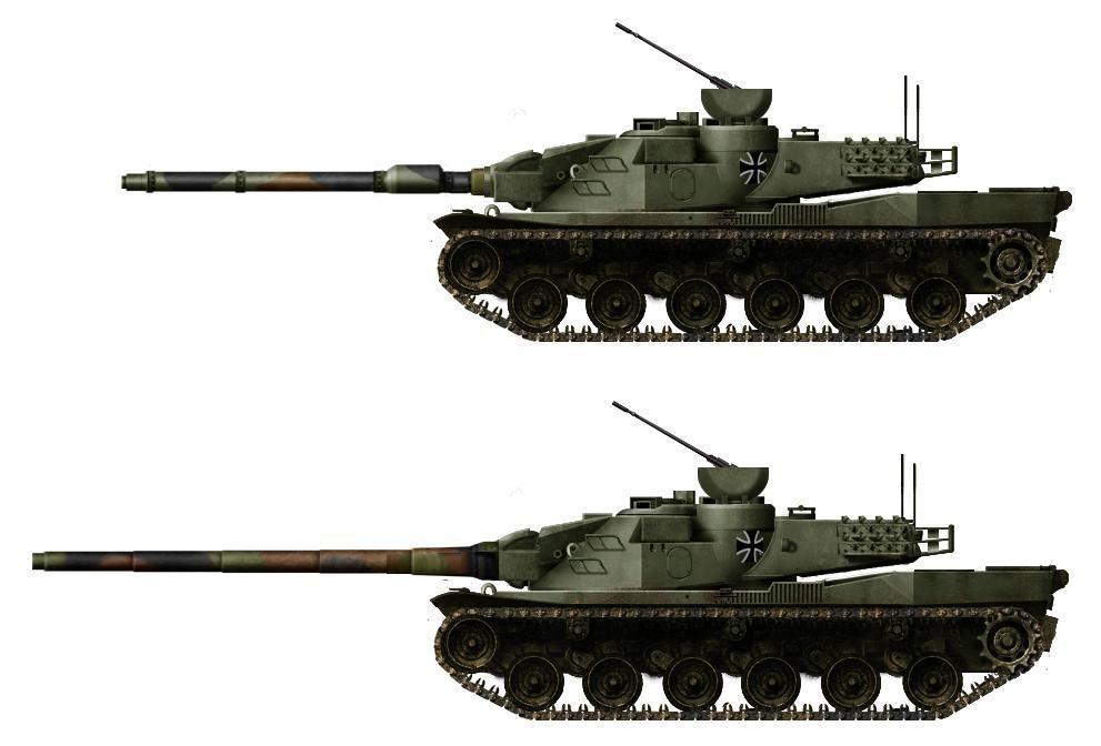 Танки программы MBT70
