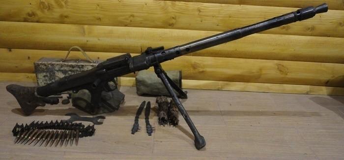 Танковый пулемет MG 34