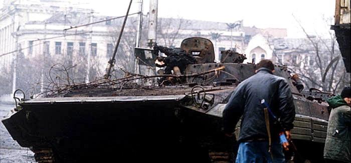 Техника в Первой чеченской