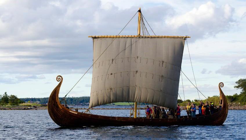 Транспортное судно викингов
