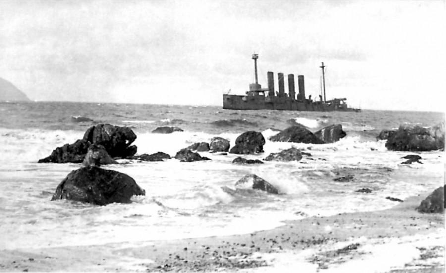«Варяг» близ берегов Шотландии