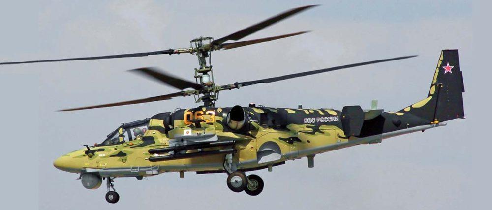 Вертолет KA-52