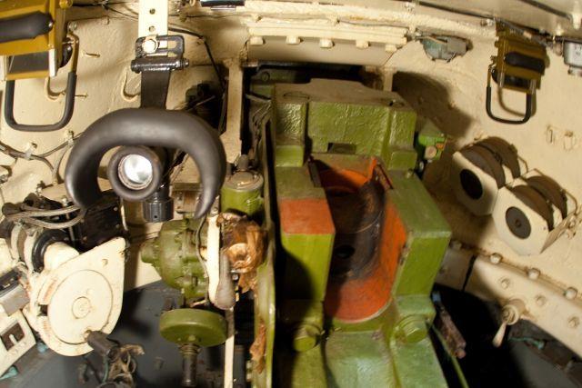 Вид на боевое отделение Т-34