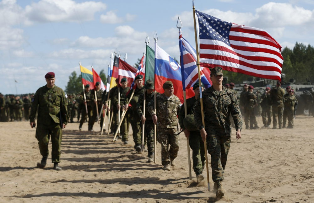 Войска НАТО