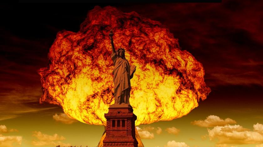 Ядерный взрыв в Нью-Йорке