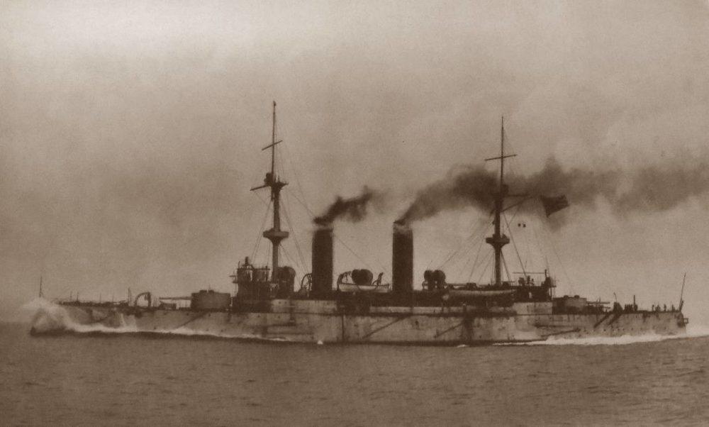 Японский крейсер «Асама»