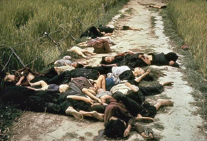 Жертвы резни в деревне Сонгми