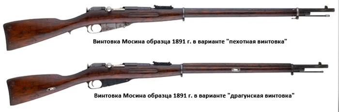 Модификации винтовки Мосина