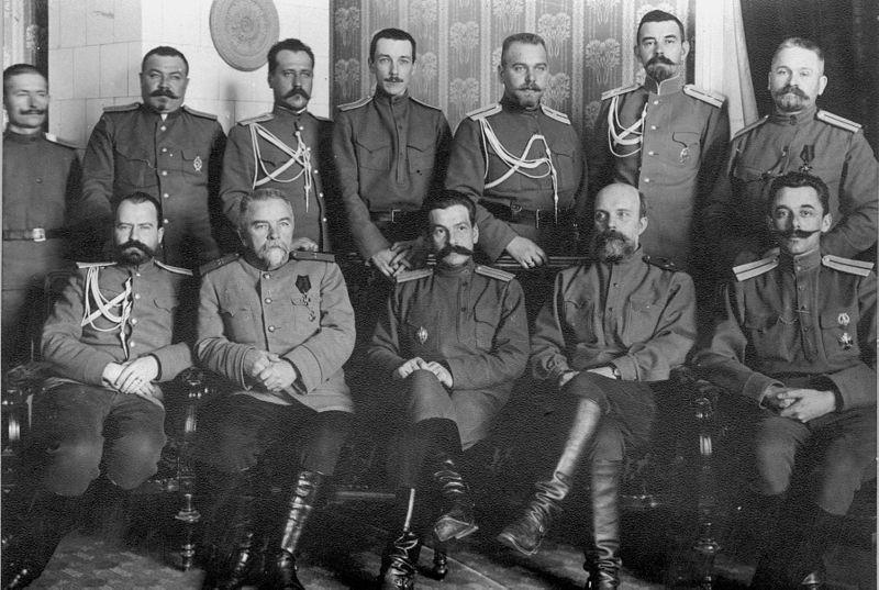 Офицеры царской армии