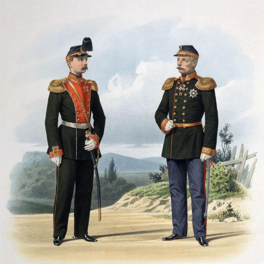 Парадная форма Российской империи