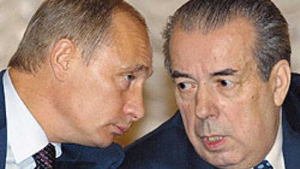 Путин на съезде РСПП