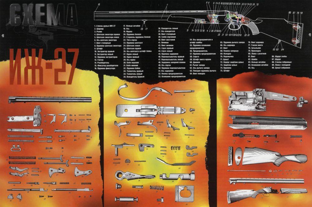 Схема ИЖ-27
