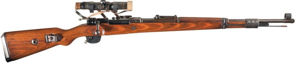 Снайперский Mauser 98k