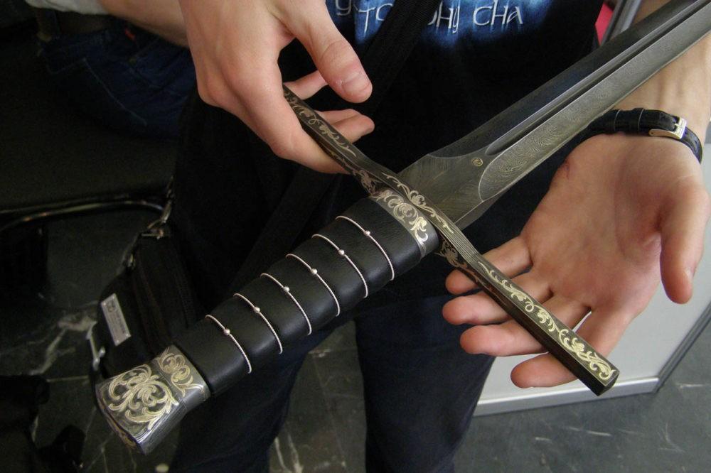 Современный меч