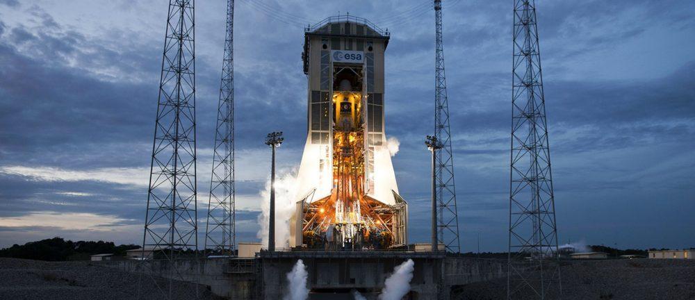 «Союз» на космодроме «Куру»