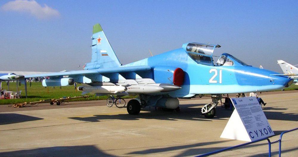 Су-39 на выставке