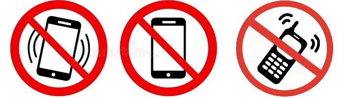 Телефоны запрещены