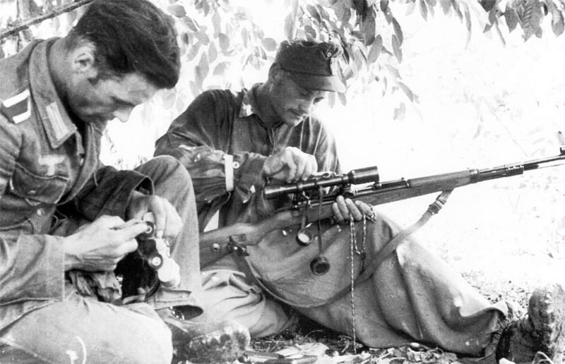 Уход за Mauser 98k