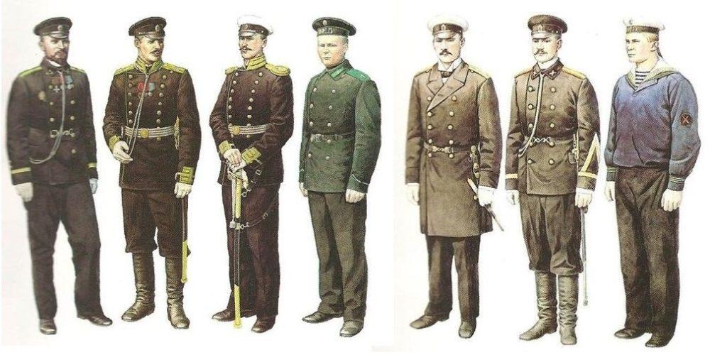 Фуражки в Российской империи