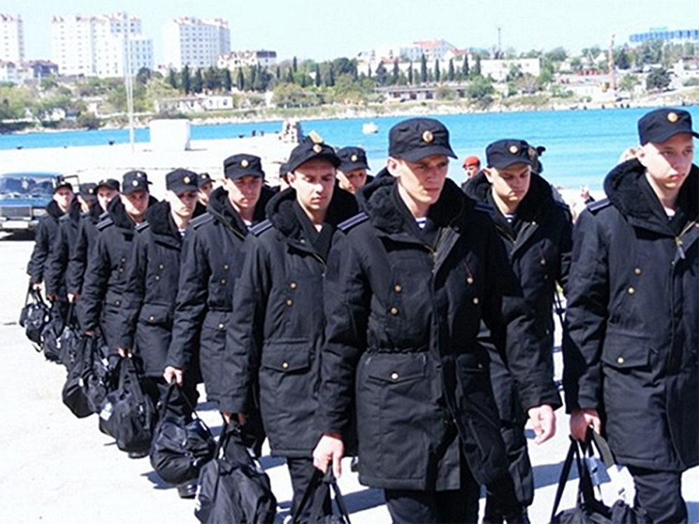 Контрактники на флоте