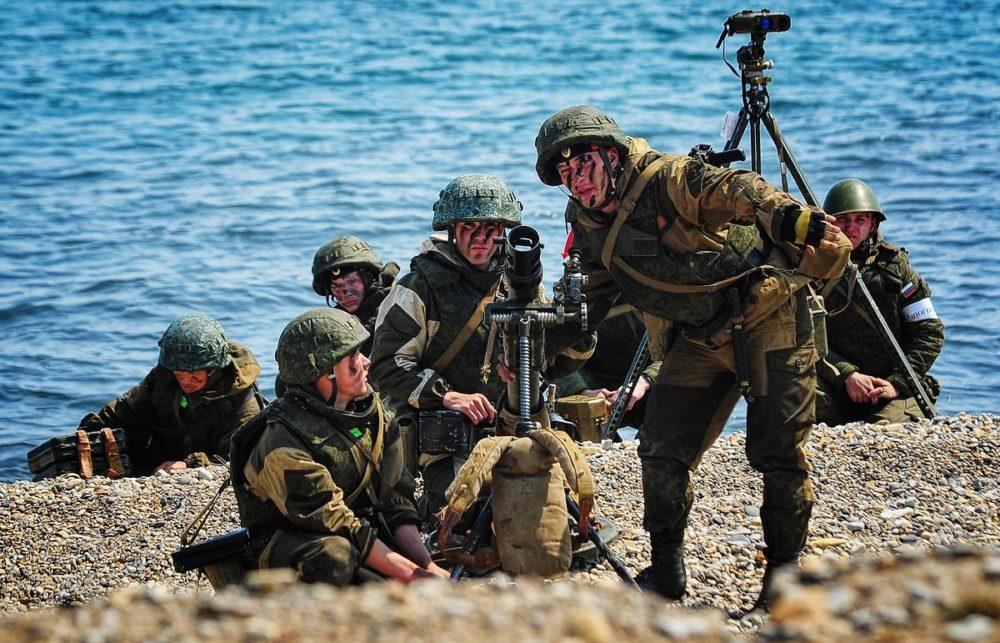 Контрактники в морской пехоте