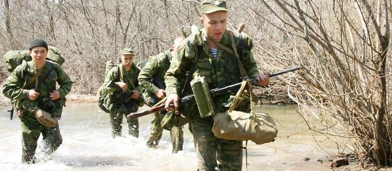 Солдат с остеохондрозом