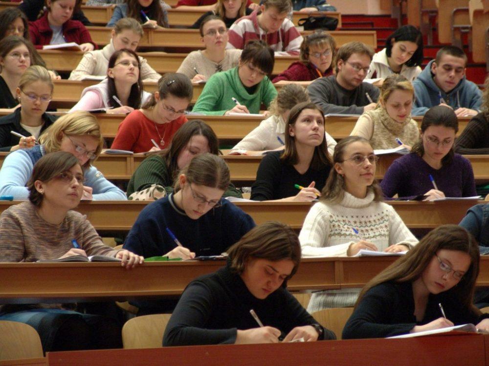 Аспиранты на занятиях