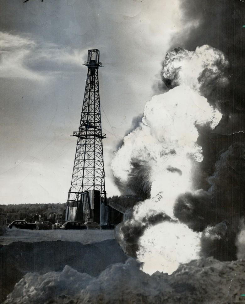 Добыча нефти ядерным взрывом