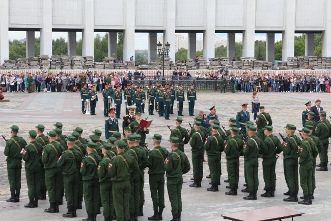 Присяга в армии России