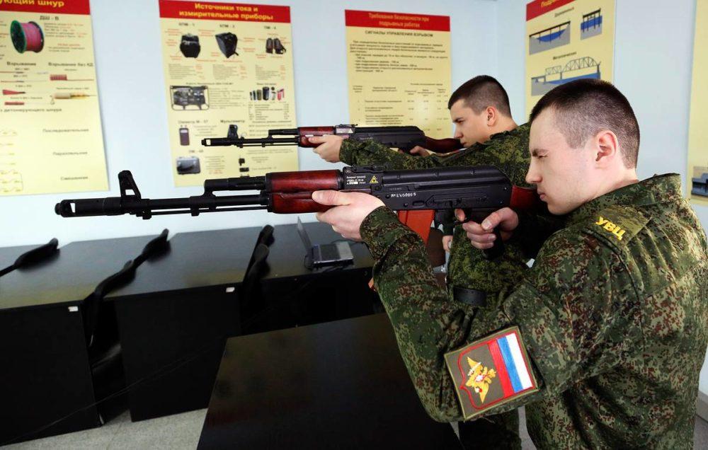Стрелковая подготовка в ВУЦ
