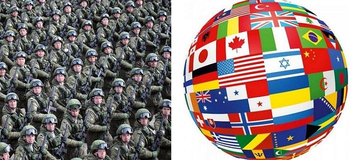 22 Государства, у Которых Нет Собственных Вооруженных Сил