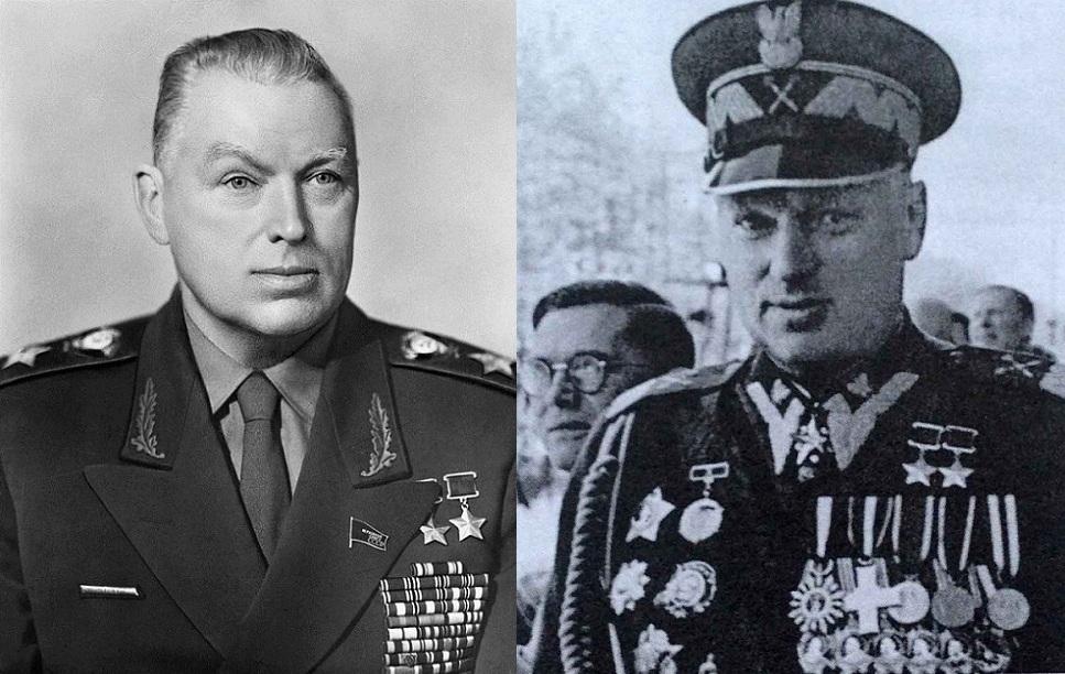 Единственный в Истории СССР Военачальник - маршал Советского Союза и Польши Одновременно