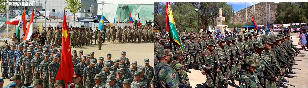 Самые Большие Армии Мира по Численности