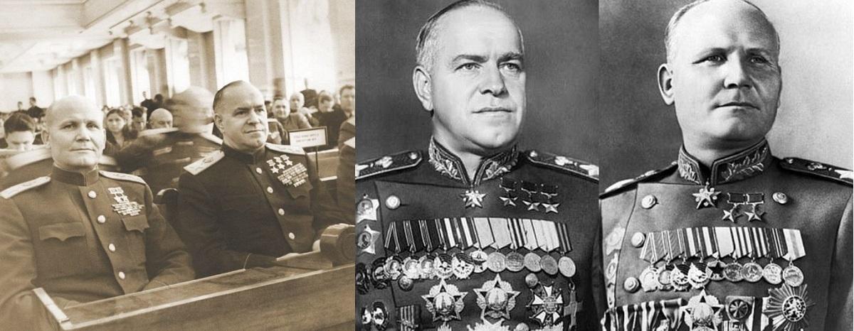 Как Подрались Маршалы Жуков и Конев: Что не Поделили Легендарные Полководцы?