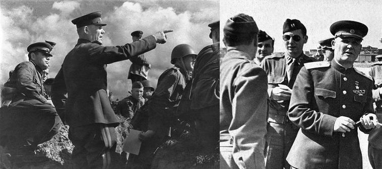 Маршал Конев Расстрелял 40 Советских Солдат в Германии в 1945 Году Публично