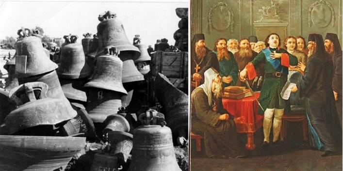 Как Петр I Убедил Попов Отдать Колокола на Военные Нужды