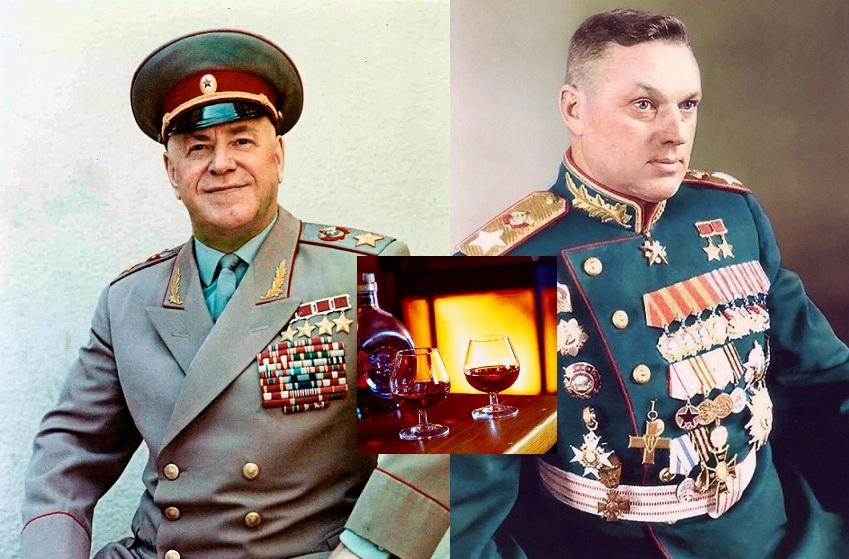 Маршалы Жуков и Рокоссовский: Сколько Пили Спиртного и Какой Любили Алкоголь