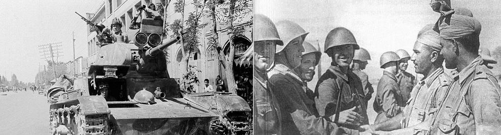 К Осени 1941 Года Немцами Были Оккупированы Белоруссия, Прибалтика, Западная Украина, а Сталин Направляет 1000 Танков и 3 Армии в Иран